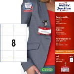 Badge portanome set AVERY - A4