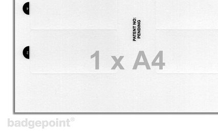 Printing sheets blank film 38