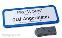 "Badge nominatif office 30 ""classic"""