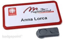office Namensschilder von badgepoint®