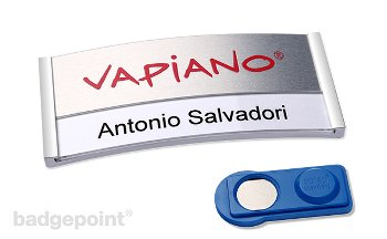 polar® alu-print name badge