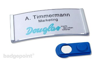 "Name badge polar® 30 ""classic"""
