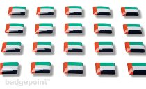 "Flag stickers ""United Arab Emirates"""