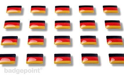 """Adesivi con bandierine """"Germania"""""""