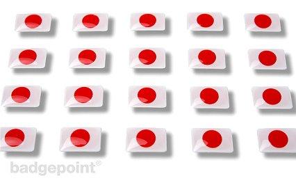 """Flaggensticker """"Japan"""""""