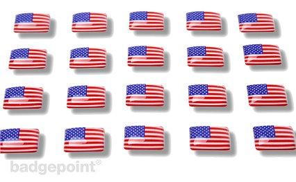 """Pegatinas con banderas """"Estados Unidos de América"""""""